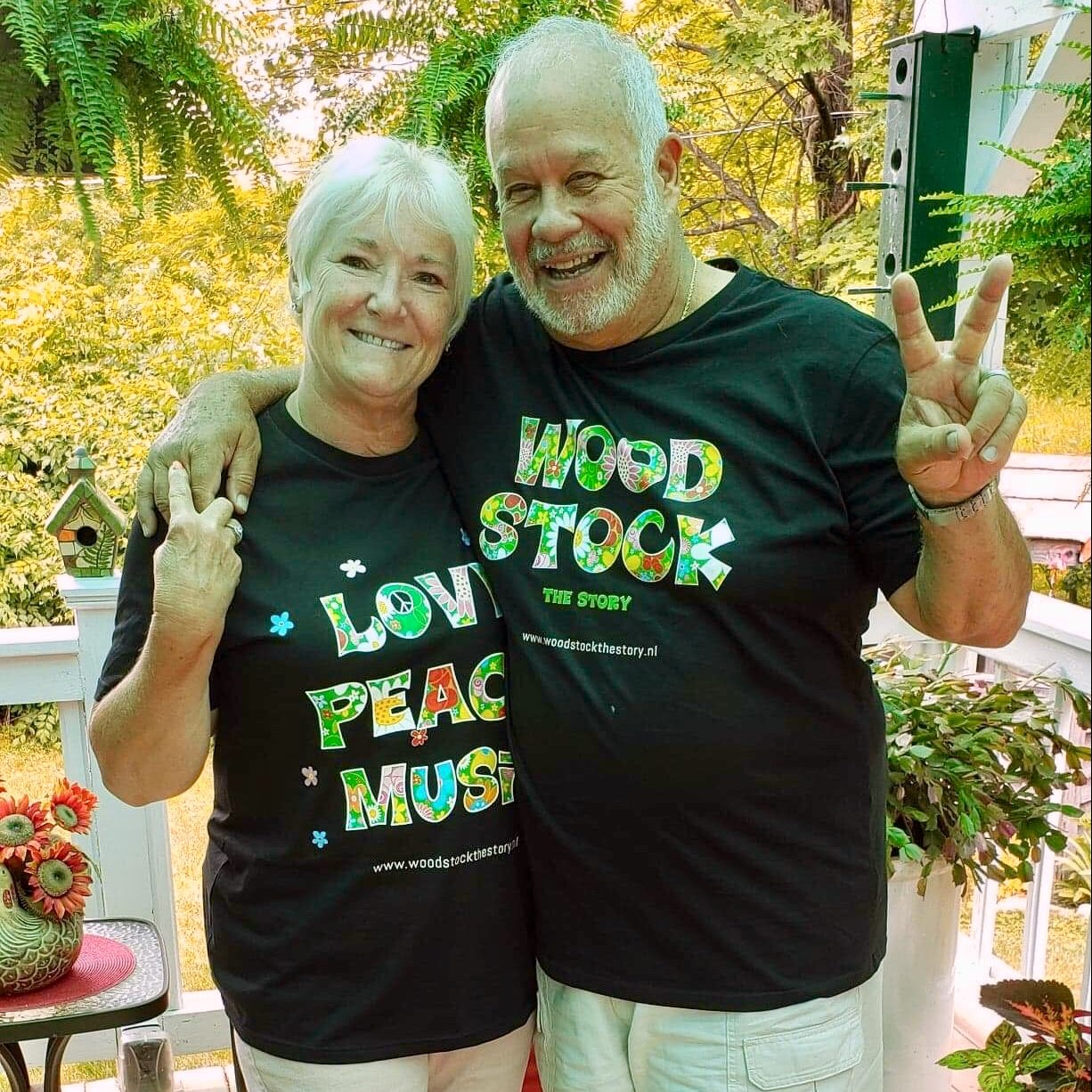 Bobbi & Nick Ercoline - das Paar vom Cover des legendären Woodstock-Albums
