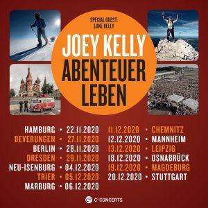 Joey Kelly Abenteuer Leben