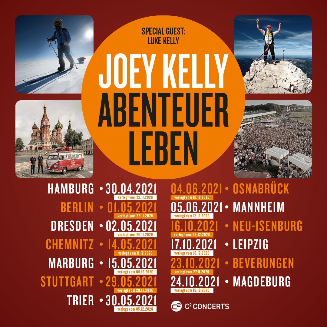 Joey Kelly Abenteuer Leben Tourdaten 2021