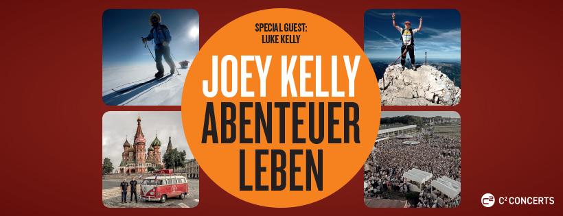 "Joey Kelly ""Abenteuer Leben"" Banner"